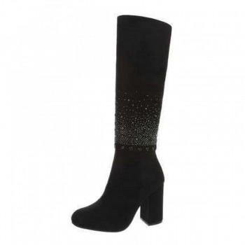Cizme Damen High Heel Stiefel - black 716181CIZGER