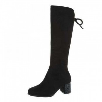 Cizme Damen High Heel Stiefel - black 977293CIZGER