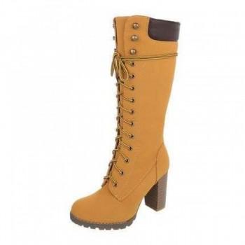 Cizme Damen Boots - camel 368926CIZGER