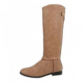 Cizme Damen Klassische Stiefel - beige 389177CIZGER