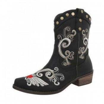 Cizme Damen Klassische Stiefel - black 445135CIZGER