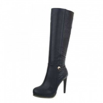 Cizme Damen High Heel Stiefel - blue 724775CIZGER