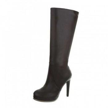Cizme Damen High Heel Stiefel - brown 230722CIZGER