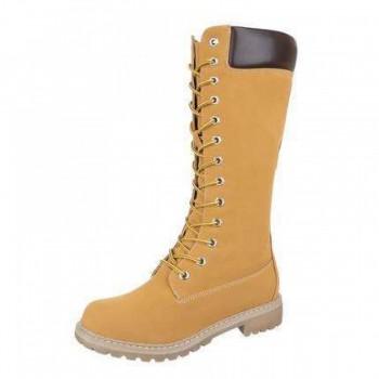 Cizme Damen Boots - camel 555127CIZGER