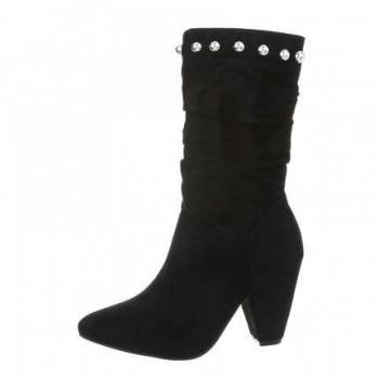Cizme Damen High Heel Stiefel - black 117135CIZGER