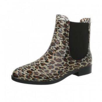Cizme Damen Gummistiefel - leopard 727836CIZGER