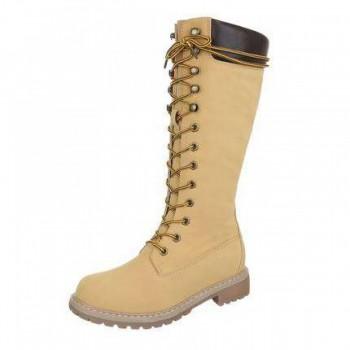 Cizme Damen Boots - camel 539768CIZGER