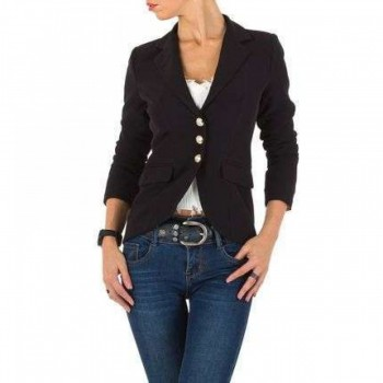 Jacheta Damen Jacke - black 942169JACGER