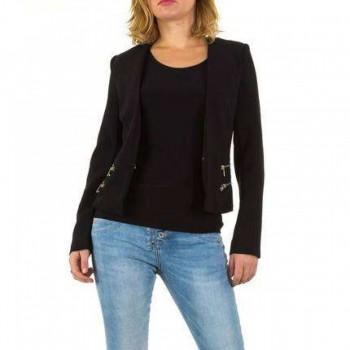 Jacheta Damen Jacke - black 321531JACGER