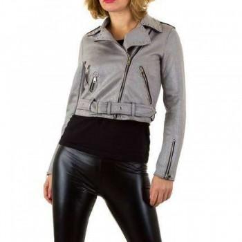 Jacheta Damen Jacke - grey 884203JACGER