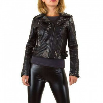 Jacheta Damen Jacke - black 318175JACGER