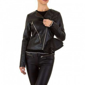 Jacheta Damen Jacke - black 741413JACGER