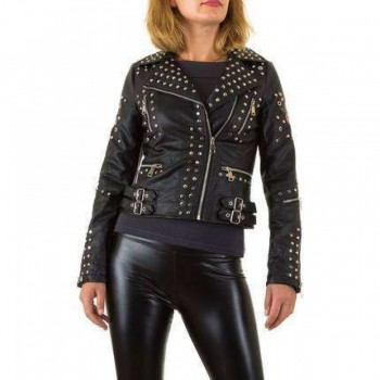 Jacheta Damen Jacke - black 129977JACGER