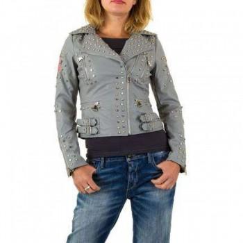 Jacheta Damen Jacke - grey 244012JACGER