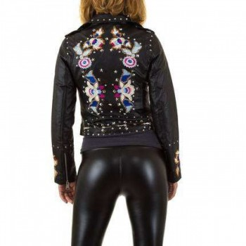 Jacheta Damen Jacke - black 353736JACGER