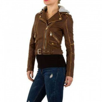 Jacheta Damen Jacke - brown 192184JACGER