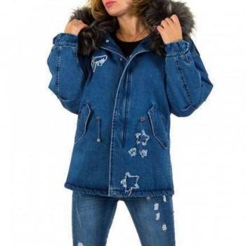 Jacheta Damen Jacke - blue 723749JACGER