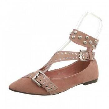 Pantofi Damen Ballerinas - pink 398523PANGER