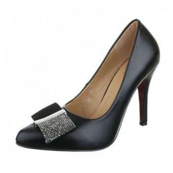 Pantofi Damen High Heels - black 514741PANGER