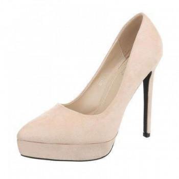 Pantofi Damen High Heels - beige 402298PANGER