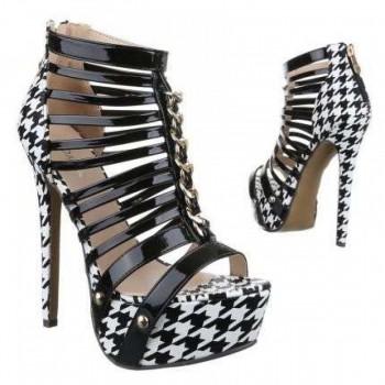 Pantofi Damen High Heels - black 245681PANGER
