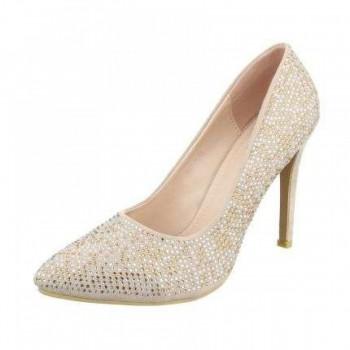 Pantofi Damen High Heels - beige 493009PANGER