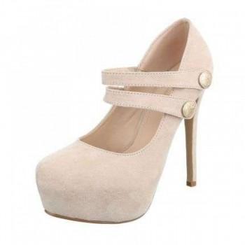 Pantofi Damen High Heels - beige 868732PANGER
