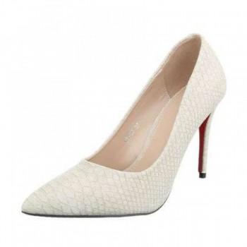 Pantofi Damen High Heels - beige 313257PANGER