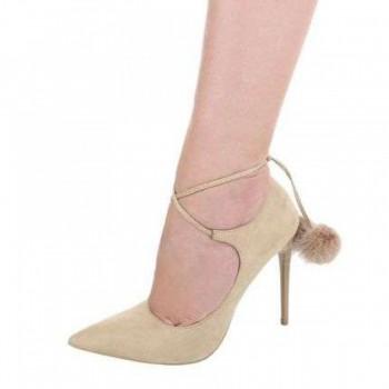 Pantofi Damen High Heels - beige 183230PANGER