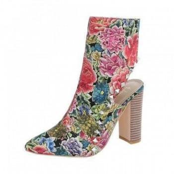 Pantofi Damen High Heel Stiefeletten - print 127826PANGER