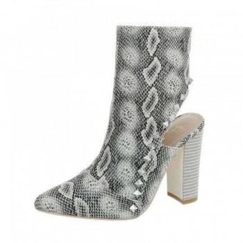 Pantofi Damen High Heel Stiefeletten - snake 339558PANGER