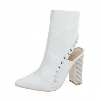 Pantofi Damen High Heel Stiefeletten - white 775789PANGER