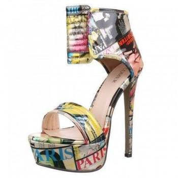 Pantofi Damen High Heels - beige 713027PANGER