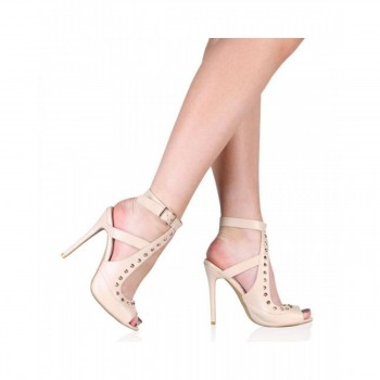 Pantofi Dama Johanna Stiletto Nude, Shoes UK