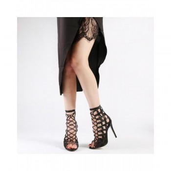 Pantofi Dama Reilly Laser Cut High, Shoes UK