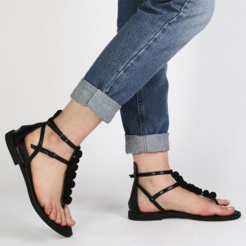 Pantofi Dama Anika Gladiator Sandals, Shoes UK